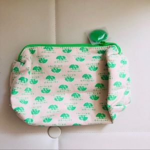 Origins Green Cosmetic Bag